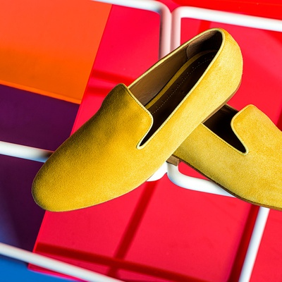 YELLOW LOAFERS